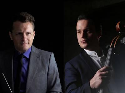 Tschaikowski-Gala – von links: Samuel Gal Alterovich, Aerseniy Chubachin