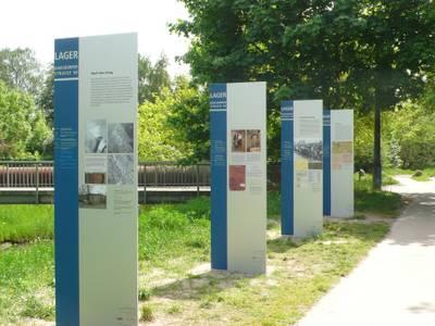 Ausstellung Lager Kaulsdorfer Straße 90