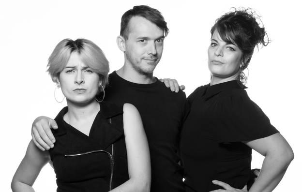 Jenny Bins, Michael Sosna und Andrea Wesenberg