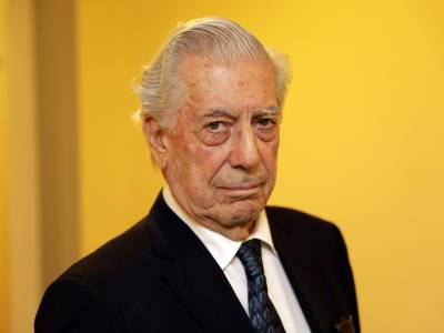 – Der peruanische Literatur-Nobelpreisträger Mario Vargas Llosa.