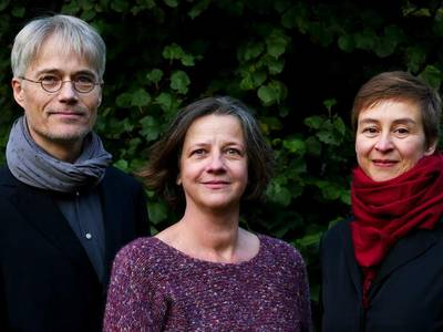 Es kam ein Engel hell und klar – von links nach rechts: Gösta Funck, Stephanie Petitlaurent, Silke Strauf
