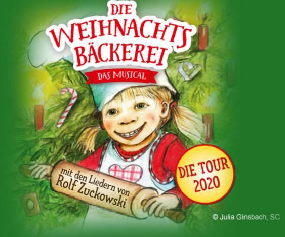Die Weihnachtsbäckerei – Das Musical für die ganze Familie - Tour 2020