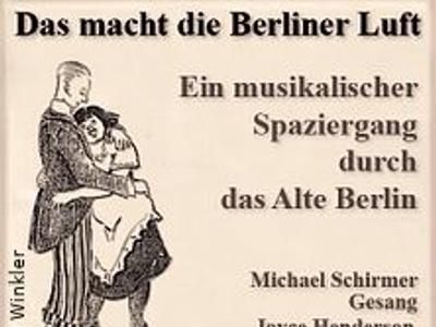Das macht die Berliner Luft - Zilles Stubentheater