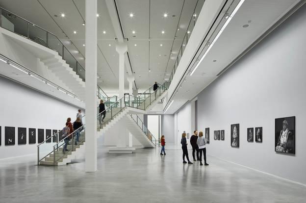 Blick in die Treppenhalle – Blick in die Treppenhalle der Berlinischen Galerie