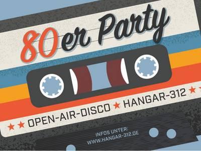 80er Party am Hangar-312