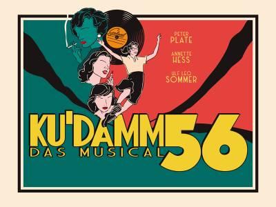 Ku'damm 56 - Das Musical in Berlin – Live im Stage Theater mit Peter Plate, Annette Hess und Ulf Leo Sommer