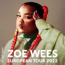 Zoe Wees - European Tour 2022