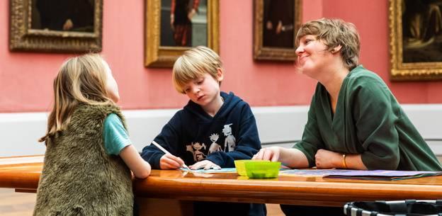 Veranstaltung in der Gemäldegalerie