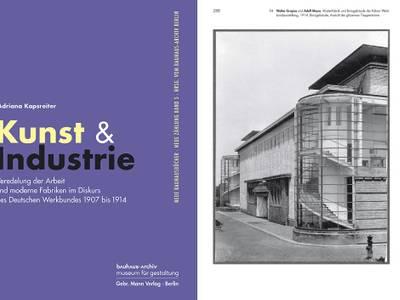 Adriana Kapsreiter, Kunst und Industrie – Cover und Innenseite von Adriana Kapsreiter, Kunst und Industrie