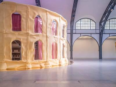 Pauline Curnier Jardin. Fat to Ashes, Ausstellungsansicht Hamburger Bahnhof - Museum für Gegenwart - Berlin, 2021, Detail
