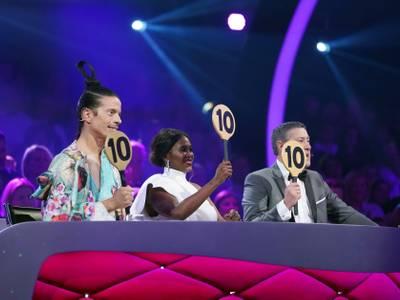 Let's Dance - Live-Tour 2020 – von links: Jorge Gonzalez, Motsi Mabuse, Joachim Llambi