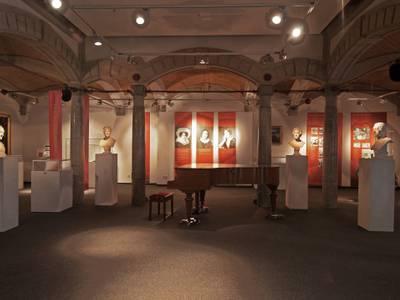 Blick in die Dauerausstellung der Mendelssohn Remise – Blick in die Dauerausstellung der Mendelssohn Remise © Manfred Claudi