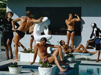 Helmut Newton, Stern, Los Angeles, 1980
