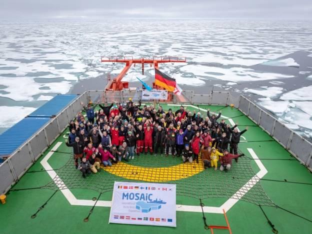 MOSAiC – die größte Arktisexpedition der Geschichte