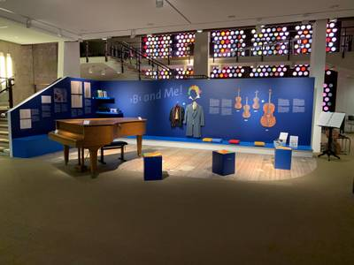Beethoven-Lounge im Musikinstrumenten-Museum – Beethoven-Lounge im Musikinstrumenten-Museum