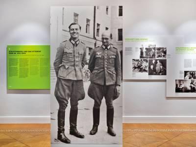"""Dauerausstellung, Themenbereich 09 """"Stauffenberg und das Attentat vom 20. Juli 1944"""""""