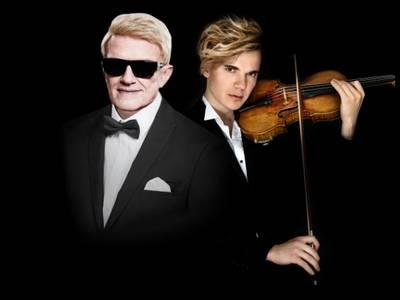 Heino goes Klassik – von links: Heino, Yury Revich