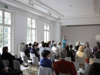 Vortrag, Haus am Waldsee