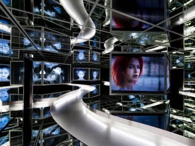 Spiegelsaal der Ständigen Ausstellung im Museum für Film und Fernsehen – Spiegelsaal der Ständigen Ausstellung im Museum für Film und Fernsehen