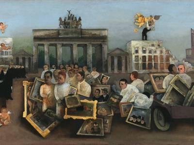 Felix Nussbaum, Der tolle Platz, 1931