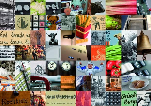 Collage mit Eindrücken von der Vielfalt des CULINARIUM – Collage mit Eindrücken von der Vielfalt des CULINARIUM © Stiftung Domäne Dahlem