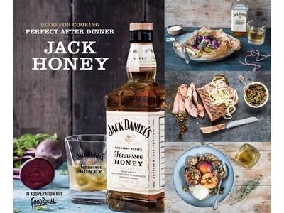 Good for cooking, perfect after dinner - der Jack Honey Kochkurs
