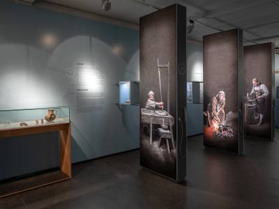 Eine neue Dauerausstellung macht das Leben im Mittelalter begreiflich