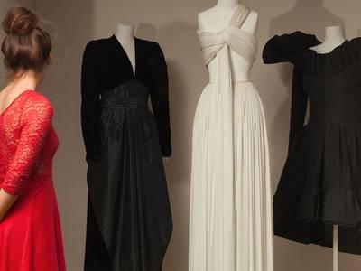 Blick in die Modegalerie