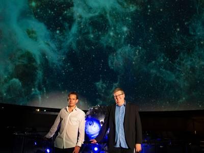 Präsentation: Arno Lücker und Dr. Jürgen Rienow