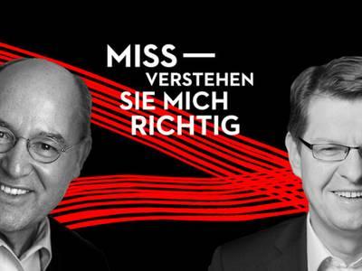Missverstehen Sie mich richtig! – Gregor Gysi & Ralf Stegner