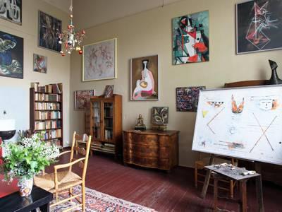 Das Atelier der Künstlerin Jeanne Mammen am Kurfürstendamm 29
