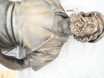 Gustav Hermann Blaeser (zugeschrieben), Schmied (1853) Galvanoplastik, Replik 1990 – Gustav Hermann Blaeser (zugeschrieben), Schmied (1853) Galvanoplastik, Replik 1990 © Mitte Museum