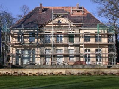 Die Liebermann-Villa während der Bauarbeiten, 2005 – Die Liebermann-Villa während der Bauarbeiten, 2005 © Max-Liebermann-Gesellschaft Berlin, Foto: H. von Reiche