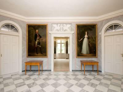 Schloss Paretz, Vestibül – Schloss Paretz, Vestibül © SPSG / Foto: Leo Seidel
