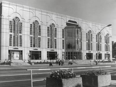 Manfred Prasser, Dieter Bankert, Walter Schwarz, Friedrichstadtpalast, kurz nach seiner Eröffnung im Jahr 1984