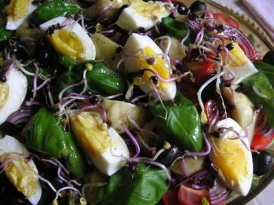 Südfranzösische Küche entlang des Mittelmeeres
