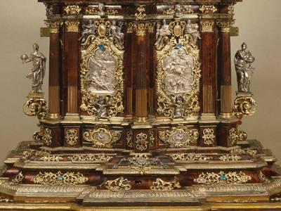 Kabinettschränkchen, Augsburg, um 1705