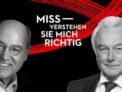 Missverstehen Sie mich richtig! – Gregor Gysi & Wolfgang Kubicki