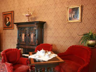 Schloss Britz, Damenzimmer – Schloss Britz, Damenzimmer ©Kulturstiftung Schloss Britz