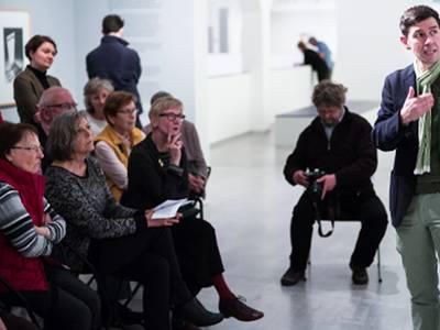 Zirkeltraining in der Berlinischen Galerie