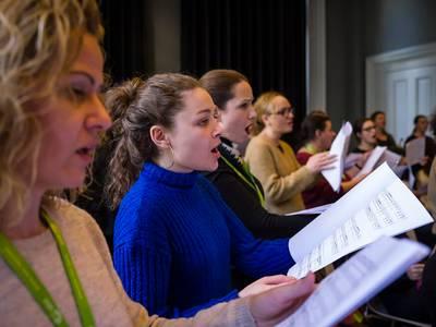 "Workshop ""Ode for All"" in Istanbul, Februar 2020"
