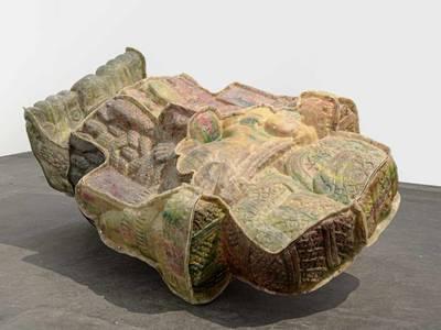 Mariana Castillo Deball, No solid form can contain you, 2010, Staatliche Museen zu Berlin, Nationalgalerie, 2015 erworben durch die Stiftung des Vereins der Freunde der Nationalgalerie für zeitgenössische Kunst