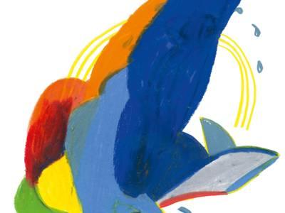 von graphicrecording.cool – eine Robbe mit Fischen um sie herum