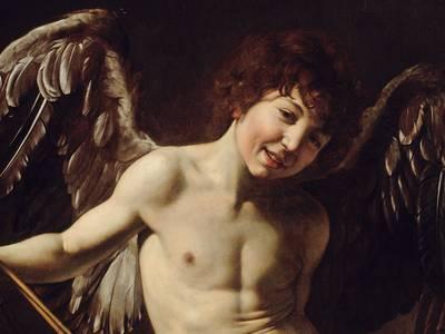Michelangelo Merisi da Caravaggio: Amor als Sieger, 1602