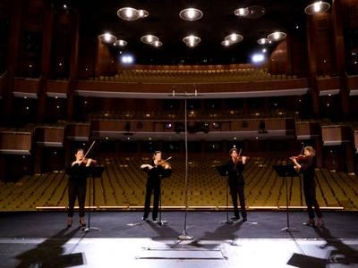 Violinquartett mit Arien aus DIE ZAUBERFLÖTE – Ruth Tromboukis