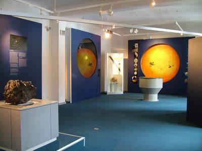 """Ausstellungsraum """"Das Sonnensystem"""""""